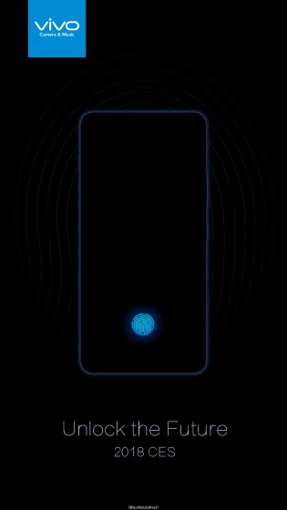Vivo under screen fingerprint scanner