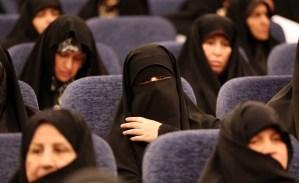 Iran women conservative coaltion pariamentary elections meeting ATTA KENARE AFP Getty 1024 600
