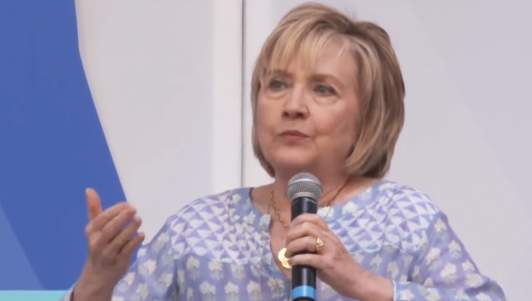 Hillary Clinton: 'The Only Crime I Ever Committed Was Stealing The Hearts Of The American People'