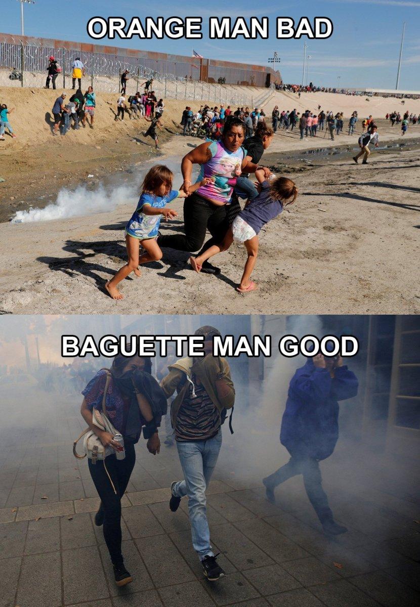 Macron vs. Trump
