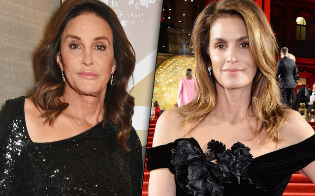 Cindy Crawford Mortified After She's Mistaken For Caitlyn Jenner