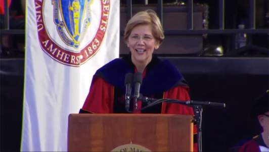 Elizabeth Warren Surprises Grads By Announcing She Will Sharply Increase Their Taxes To Pay For Their Own Student Loans
