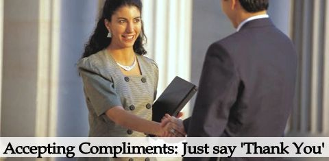Accepting Compliments Gracefully