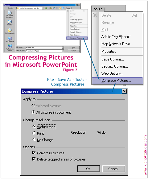 Compressing Photos in PowerPoint