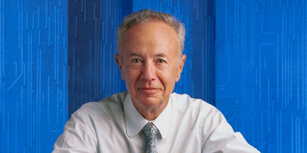 Andy Grove of Intel, born András István Gróf in Hungary