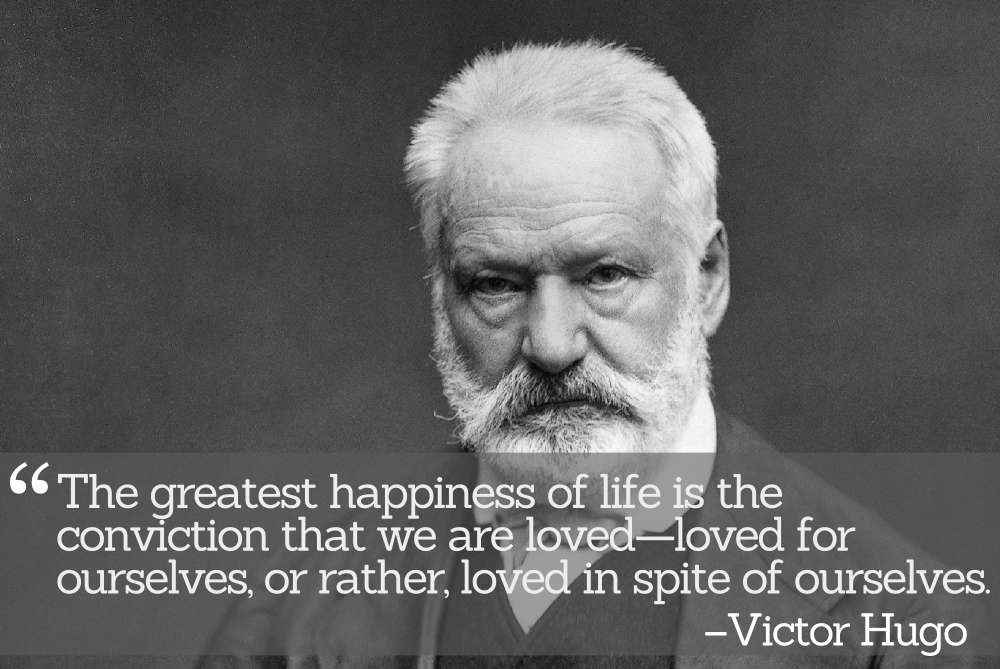 Inspirational Quotations by Victor Hugo