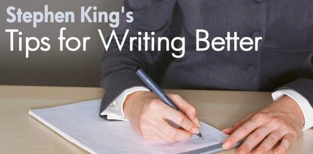 Stephen King's Tips for Writing Better