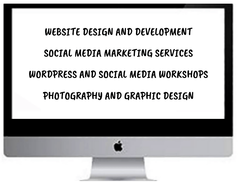 WEBSITES DESIGN AND DEVELOPMENT SOCIAL MEDIA AND MARKETING SERVICES WORDPRESS AND SOCIAL MEDIA MENTORSHIP PHOTOGRAPHY AND GRAPHIC DESIGN