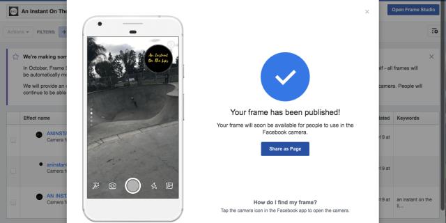 Tutorial: How to Add a Camera Frame for Facebook Live - Social Media