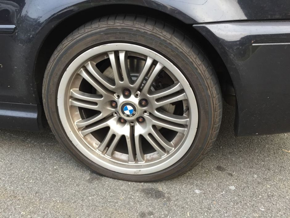 Flat Continental DW on E46 M3