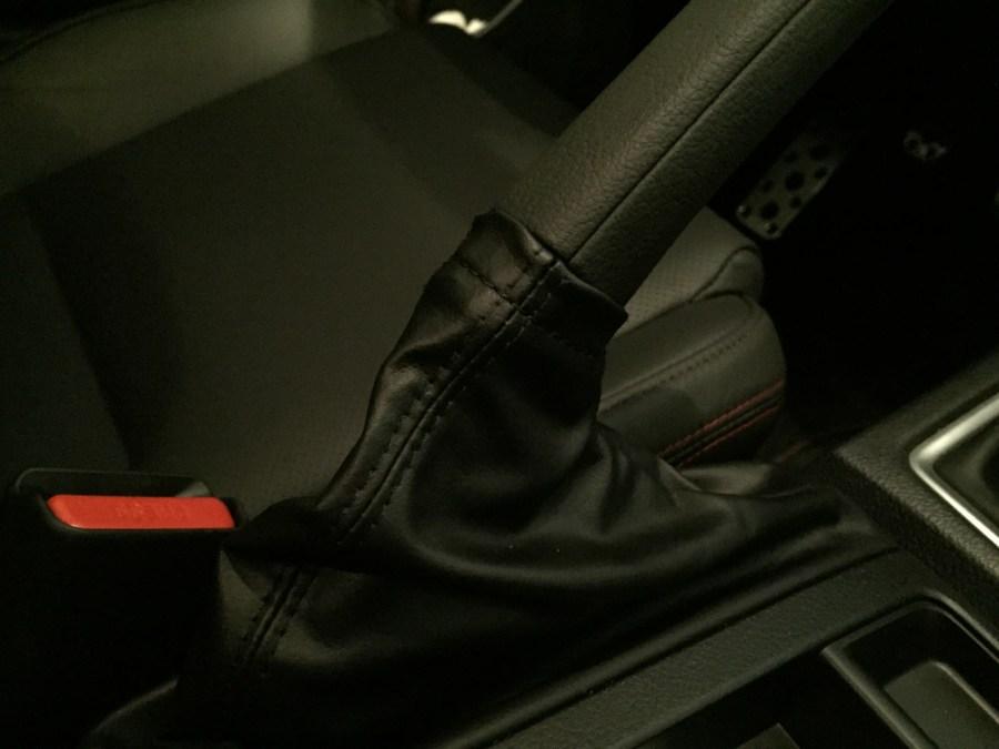 2015 Subaru WRX e-brake handle