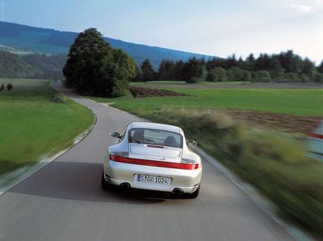 Porsche 996 Carrera 4S Rear