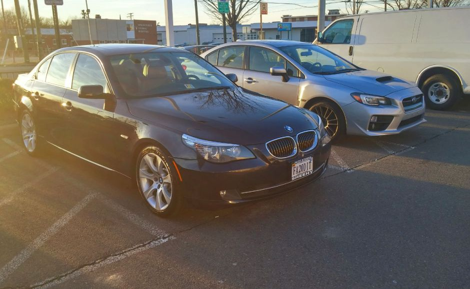 To Japan and Back - Goodbye Subaru WRX, Hello BMW 535i