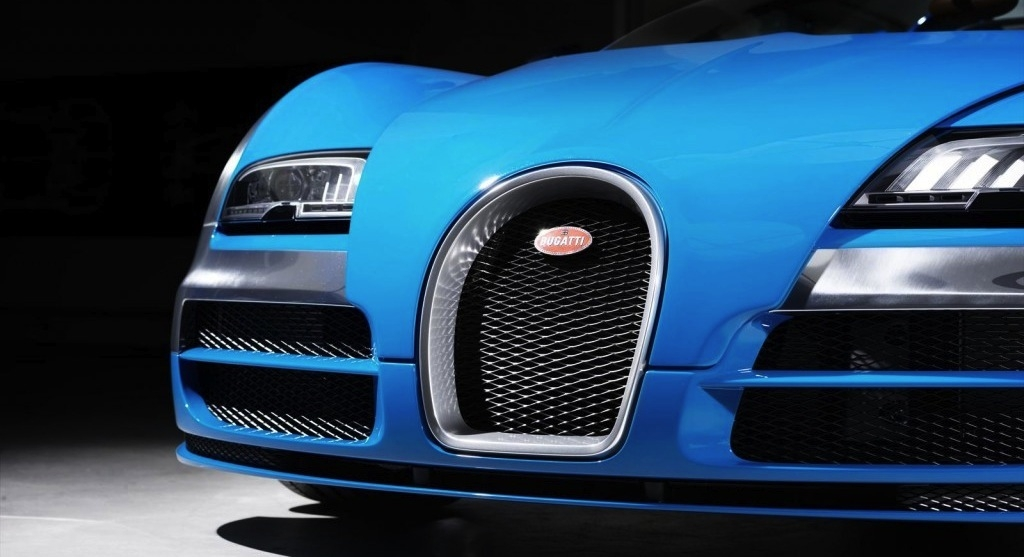 Bugatti Veyron titanium grill