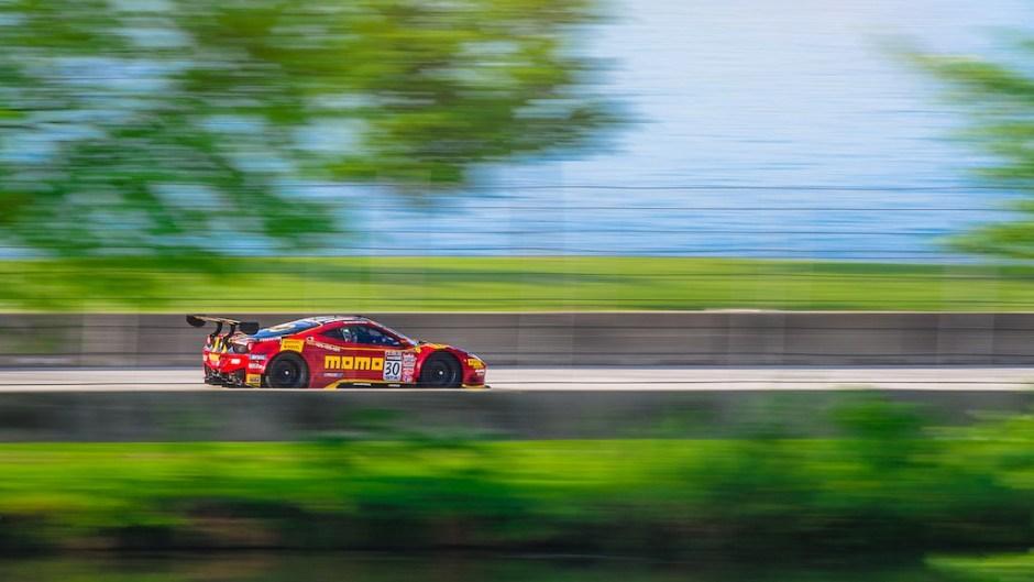 Belle Isle Grand Prix Ferrari