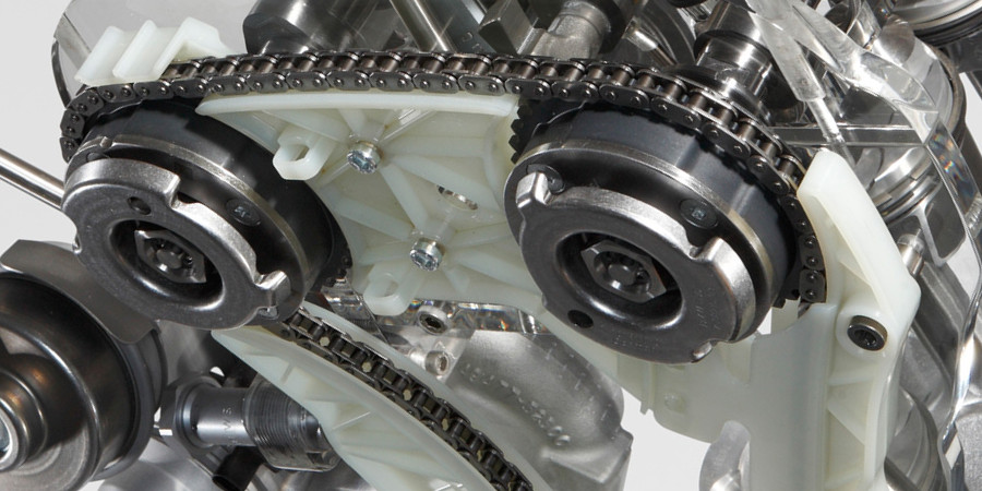 BMW N20 Timing Chain Close Up