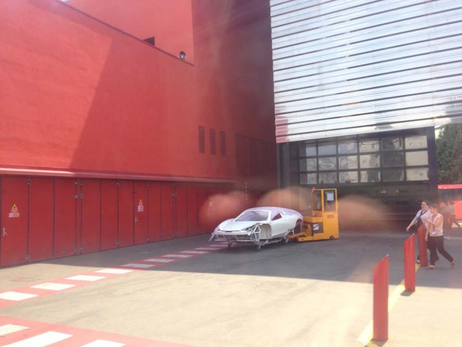 Behind The Scenes Ferrari Factory Track Tour Maranello