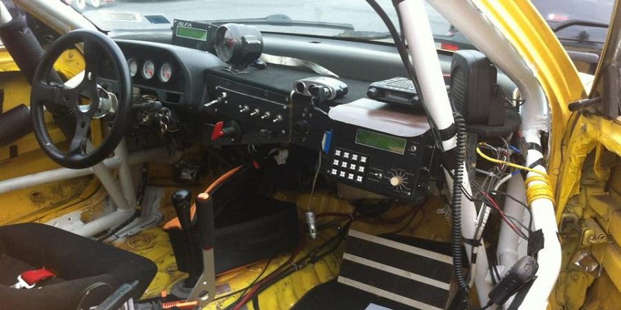 Car 0 interior