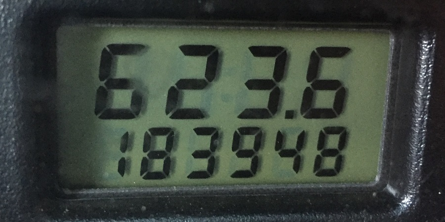 2002 Ford Focus odometer