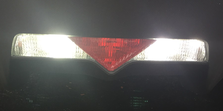 BRZ rear LED reverse lights
