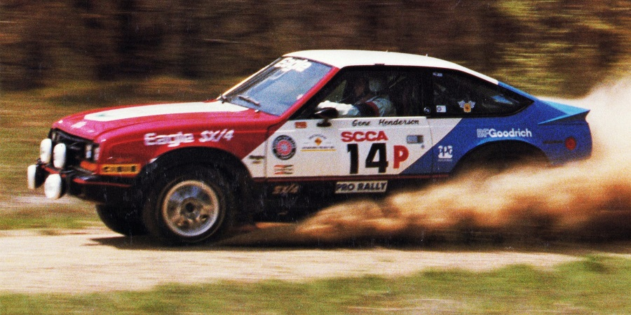 AMC Eagle SX/4 rally car