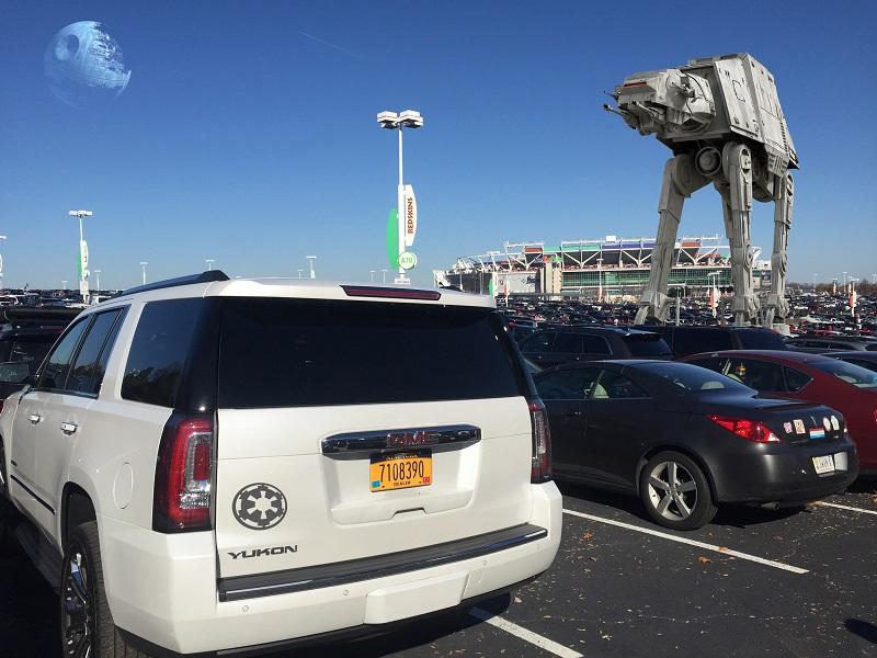GMC Yukon Star Wars Stormtrooper