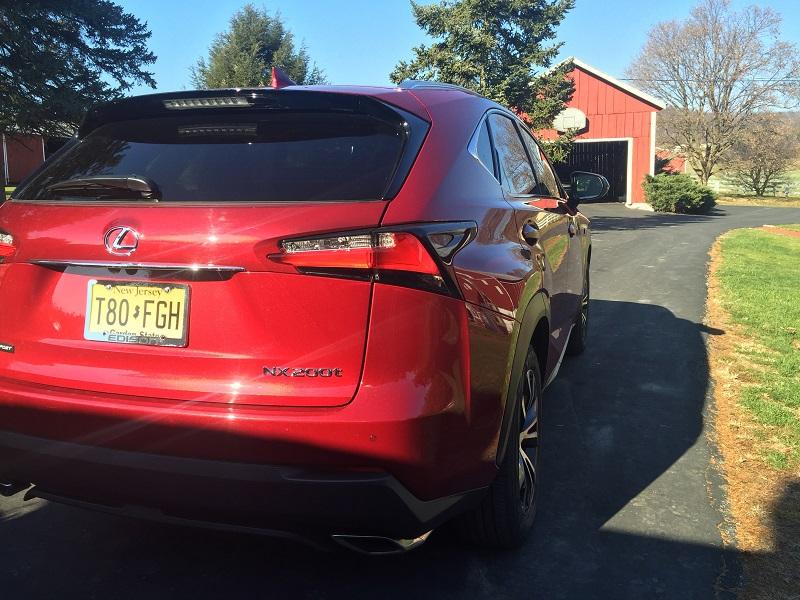 2015 Lexus NX F-Sport