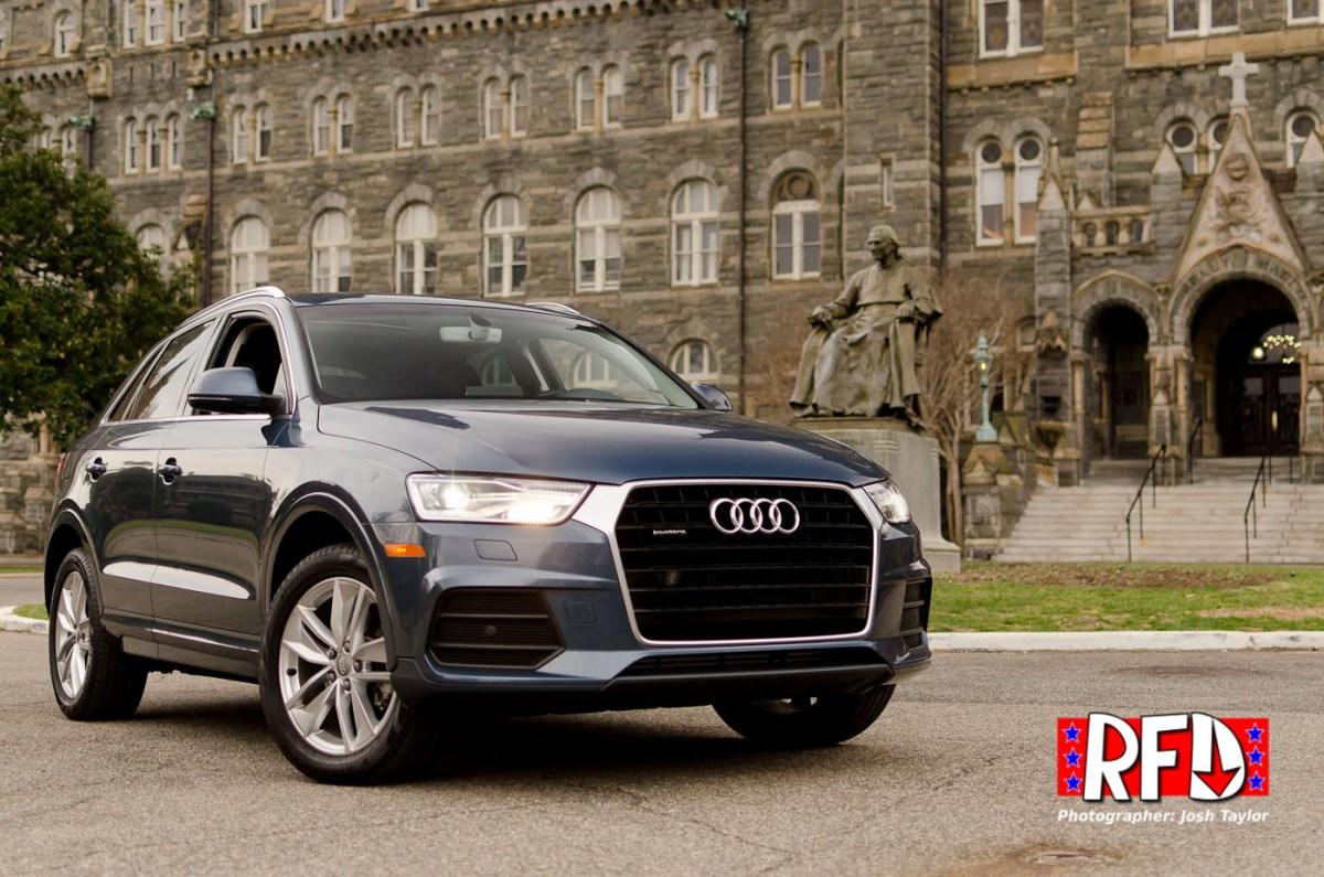 2016 Audi Q3 at Georgetown University