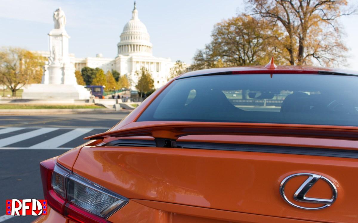 2016 Lexus RC F in Washington, DC.
