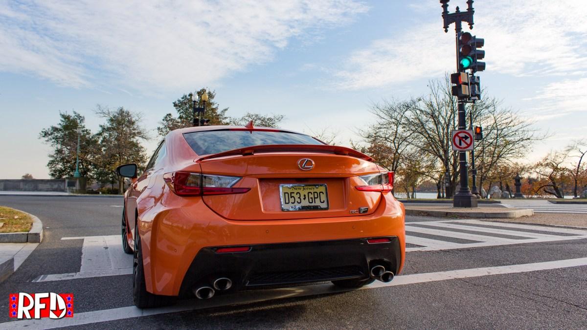 2016 Lexus RCF in Washington, DC.