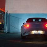 2016 Mazda Miata butt at night