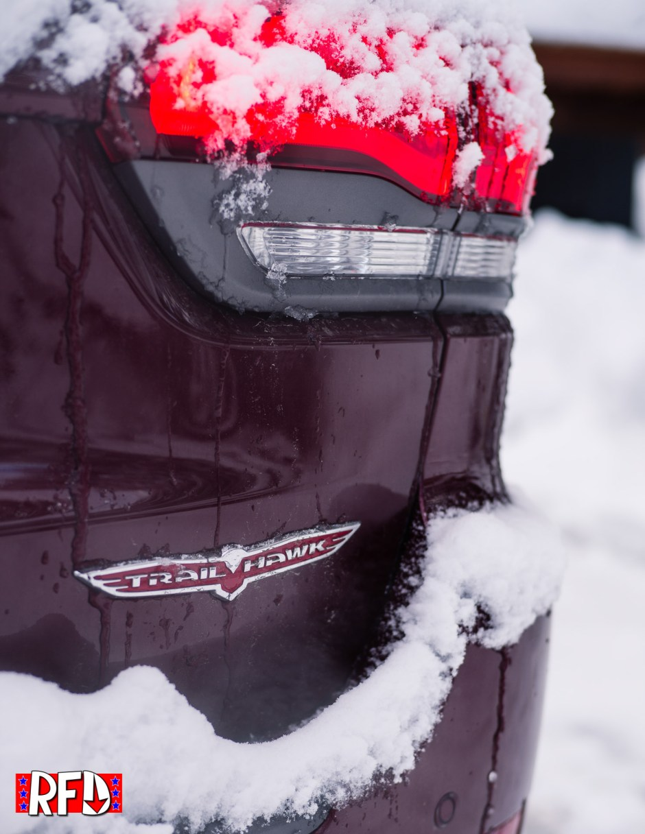 Jeep Grand Cherokee Trailhawk trunk badge
