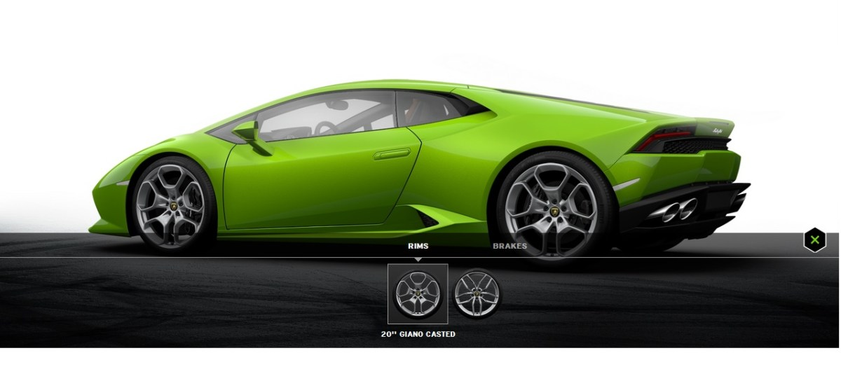 huracan4build your own Lamborghini Huracan