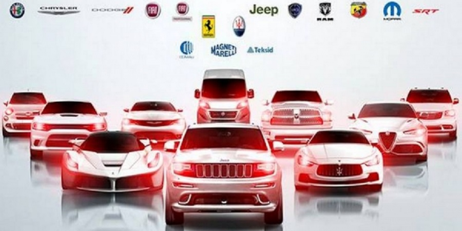 Fiat Chrysler vehicle lineup