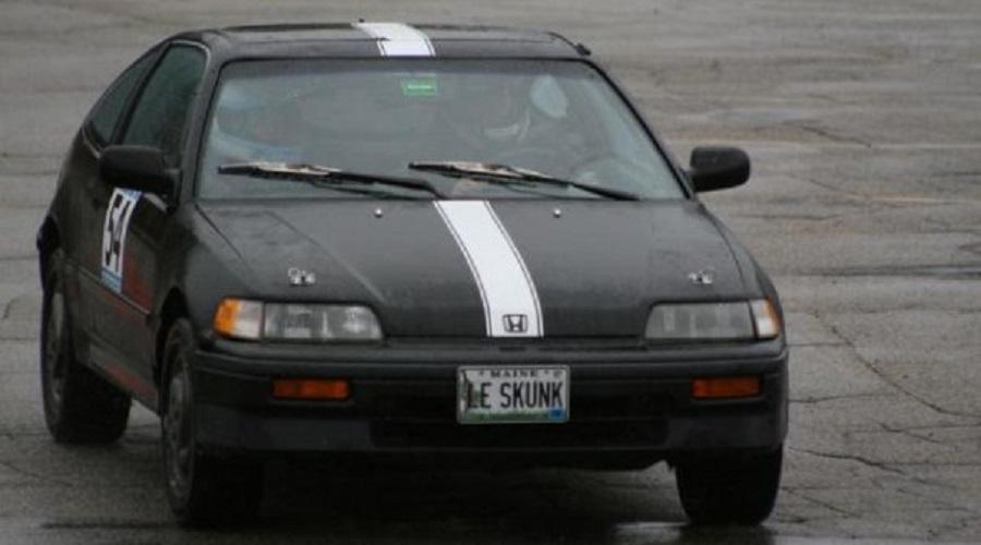 """Honda CRX Si, """"Le Skunk"""""""