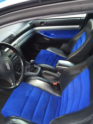 Audi S4 Avant front seats