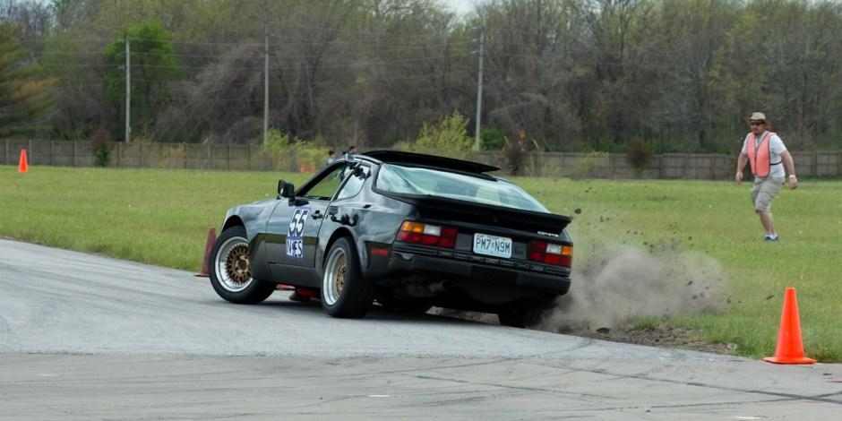 Autocross, not rallycross