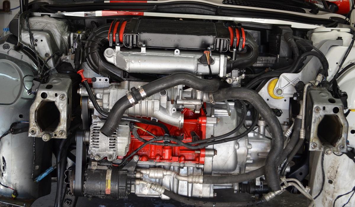 Alter Ego engine bay