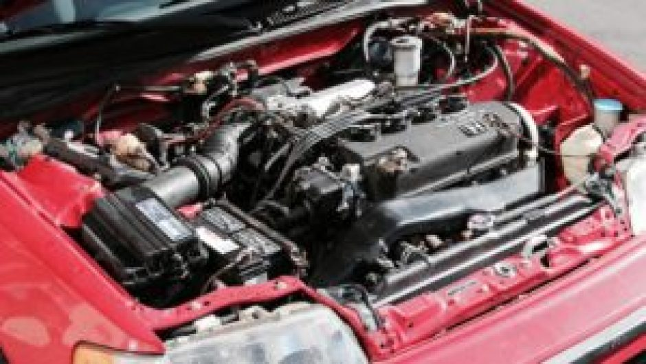 CRX Si Engine