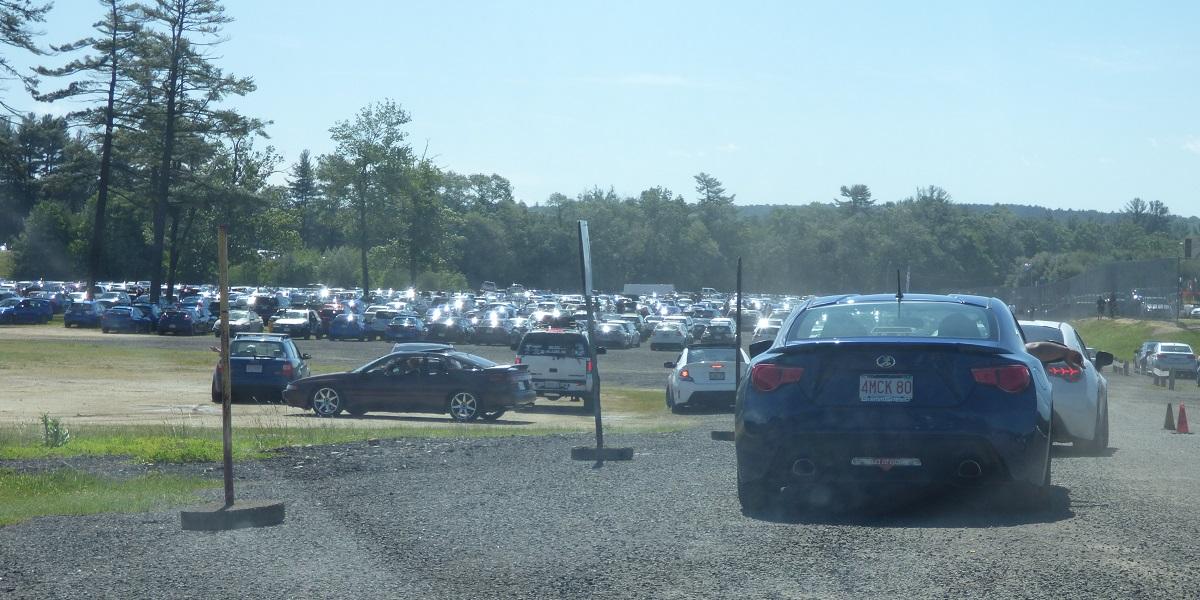 Wicked Big Meet wicked big parking lot