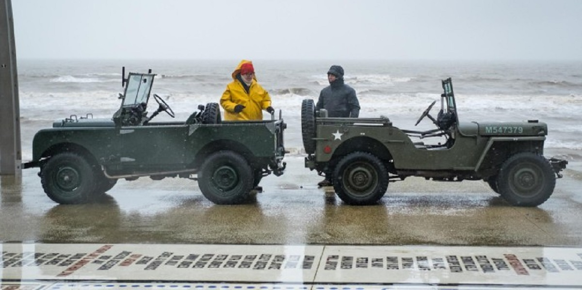 Jeep vs. Land Rover challenge