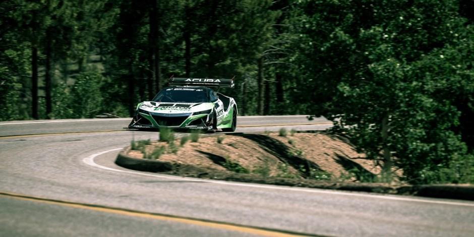 Pike's Peak Acura NSX