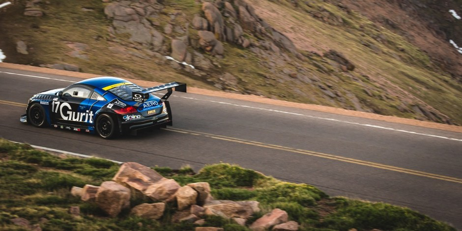 Pike's Peak Audi TT