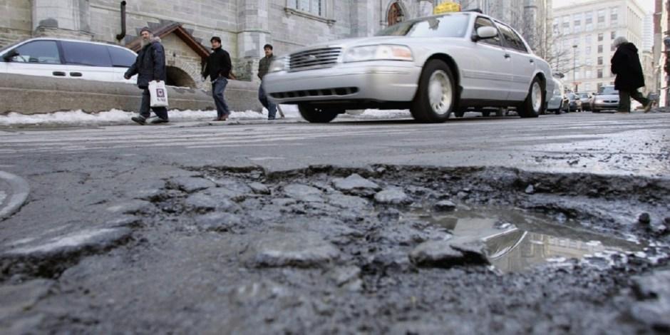 Montreal potholes