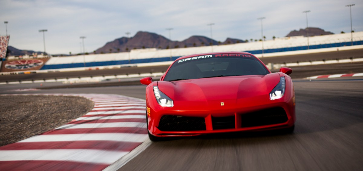 Ferrari 488 GTB Front Track