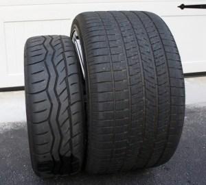 Miata vs Corvette tires