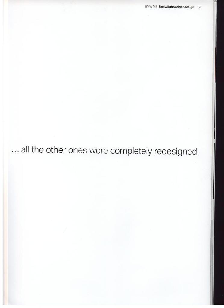 Page 19 of E92 M3 Brochure