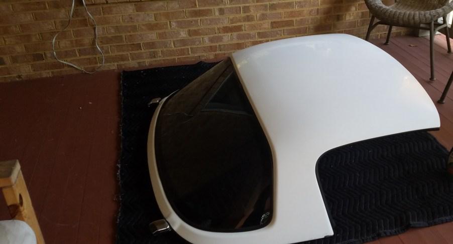 My Mazda Miata Hardtop with rear defroster