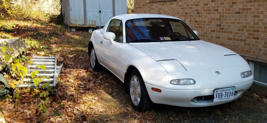 It's usual habitat: 1994 Mazda Miata
