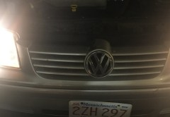 Jetta headlight restorer comparison